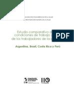 Estudio comparativo argentina, Brasil, Costa rica y Perú salud&trabajo_2012