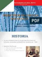 PRINCIPIOS DE CIRUGIA ONCOLÓGICA