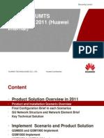 VIVO GSM UMTS Solution in 2011 - Huawei Internal V2(20110120)