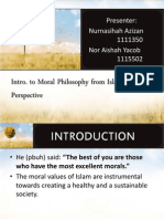Islamic Moral Philosophy