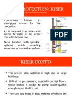 Fire Protection - Riser