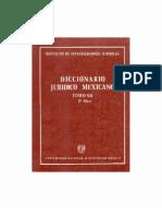 Diccionario Juridico Mexicano - Tomo Vii (1)