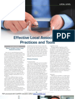 CROWE_effective Local Association Practices and Tools