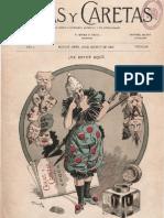 Caras y caretas (Buenos Aires). 8-10-1898, n.º 1