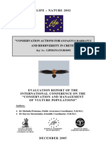"""CONSERVATION ACTIONS FOR GYPAETUS BARBATUS AND BIODIVERSITY IN CRETE"""""""