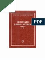 Diccionario Juridico Mexicano - Tomo IV (1)