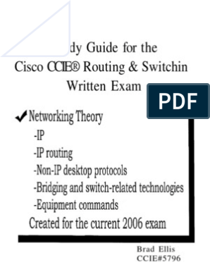 Ccie Rs Written | Transmission Control Protocol | Routing