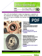diagnostico embrague Valeo