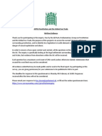 APPG Inquiry - Call for Written Evidence
