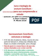 1. Estrutura e Teologia Da Sacrosanctum Concilium