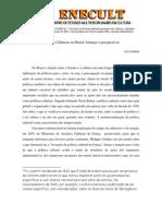 Lia - Políticas Culturais no Brasil balanço e perspectivas