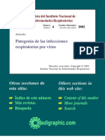 Patogenia de Las Infecciones Respiratorias Por Virus. 2002