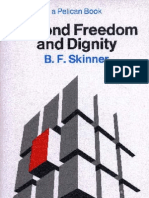 BF Skinner Beyond Freedom & Dignity 1971