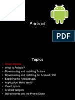 Anroid os and to create android app