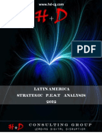 LATIN AMERICA STRATEGIC PEST ANALYSIS - 2012