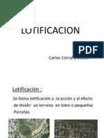 PLANIFICACION (LOTIFICACION)