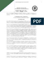 Decreto Ejecutivo 3 de 17 de Enero 2013