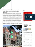 Desain Kantor Arsitek, Architecture Offices Netherlands ~ Inilah Info