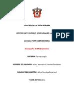 Monografía de farmacologia