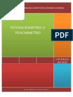 Potenciometro o Phmetro