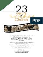 23yr Anniversary General Invite