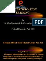 Epa Certification