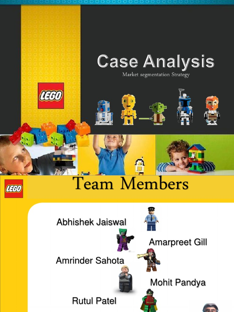 lego segmentation How do you rebuild a brand, brick by brick in the case of lego, it was about bringing the outside in, ushering the company into a new era of content, co-creation and listening katie mcquater explores the brand's transformation from breaking point to the world's biggest toymaker, with a consumer centric approach at its heart.