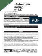 Equipo MSA FireHawk M7