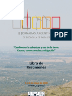 Libro de Resumenes II Jornadas Ecologia Paisajes