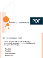 Context and Culture Ch6 Part1