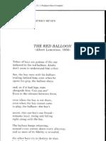 A Van Jordan - Red Balloon Poem