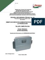 Análisis de Objeto Técnico La Cerradura Electrica