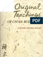 Chang Chung-Yuan - Original Teachings of Cha'an Buddhism