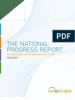 National Progress Report on E Prescribing Year 2011