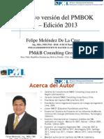 PMI Chapter Lima Peru-PMBOK_5taEdicion Felipe Meléndez