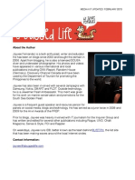 A Bugged Life Media Kit dated February 2013