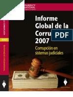 Informe Global de La Corrupcion 2007 Cultura Legal e Integridad