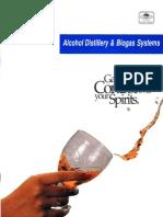 Biogas in Distillery