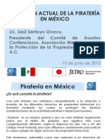 Situacion Actual de La Pirateria en Mexico