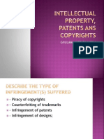 Intellectual Property, Patents Ans Copyrights-2