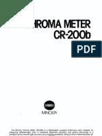 Konica Minolta CR 200B Specs