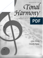 Tonal Harmony - Work Book