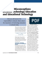 Education Technology and Technological Education