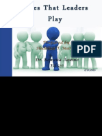 Roles That Leaders Play ppt