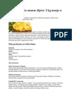 Osvježavajuća ananas dijeta.doc