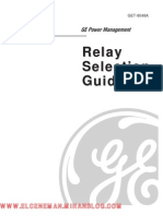 Relay Setting Guide GE