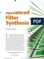 Advanced Filter Synthesis