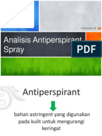 Aomk Antiperspiran SPRAY