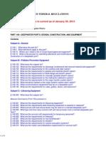 33 CFR Part 149- Deepwater Ports- Design, Construction, and Equipment