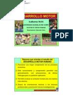 Desarrollo Motor - Modulo 1 - Huck - 2012